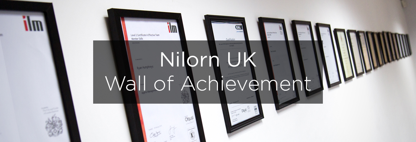 Wall of Achievement Update Blog Header